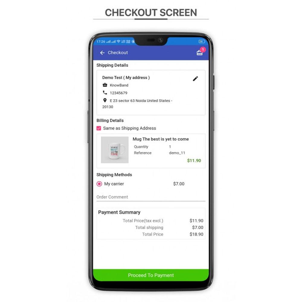 module - Dispositivos móviles - Knowband - PWA Mobile App - 6