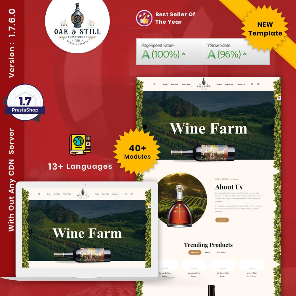 theme - Drink & Wine - OAK & Still Wine Shop - 1