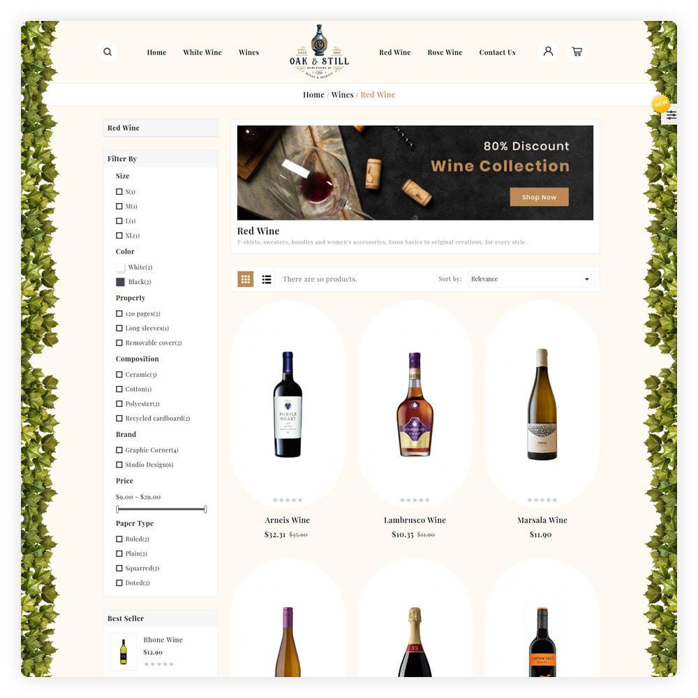 theme - Drink & Wine - OAK & Still Wine Shop - 3