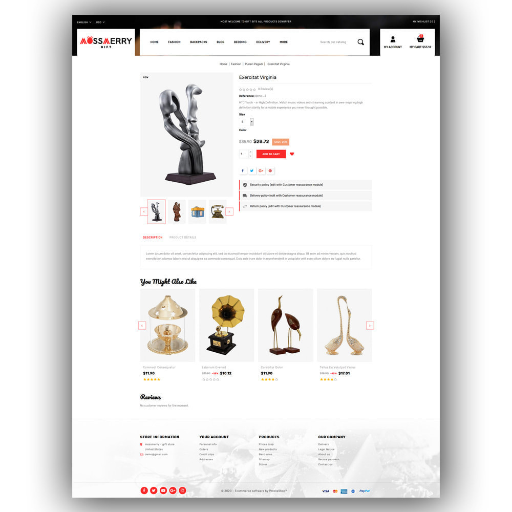 theme - Gifts, Flowers & Celebrations - Mossmerry - Gift Store - 6
