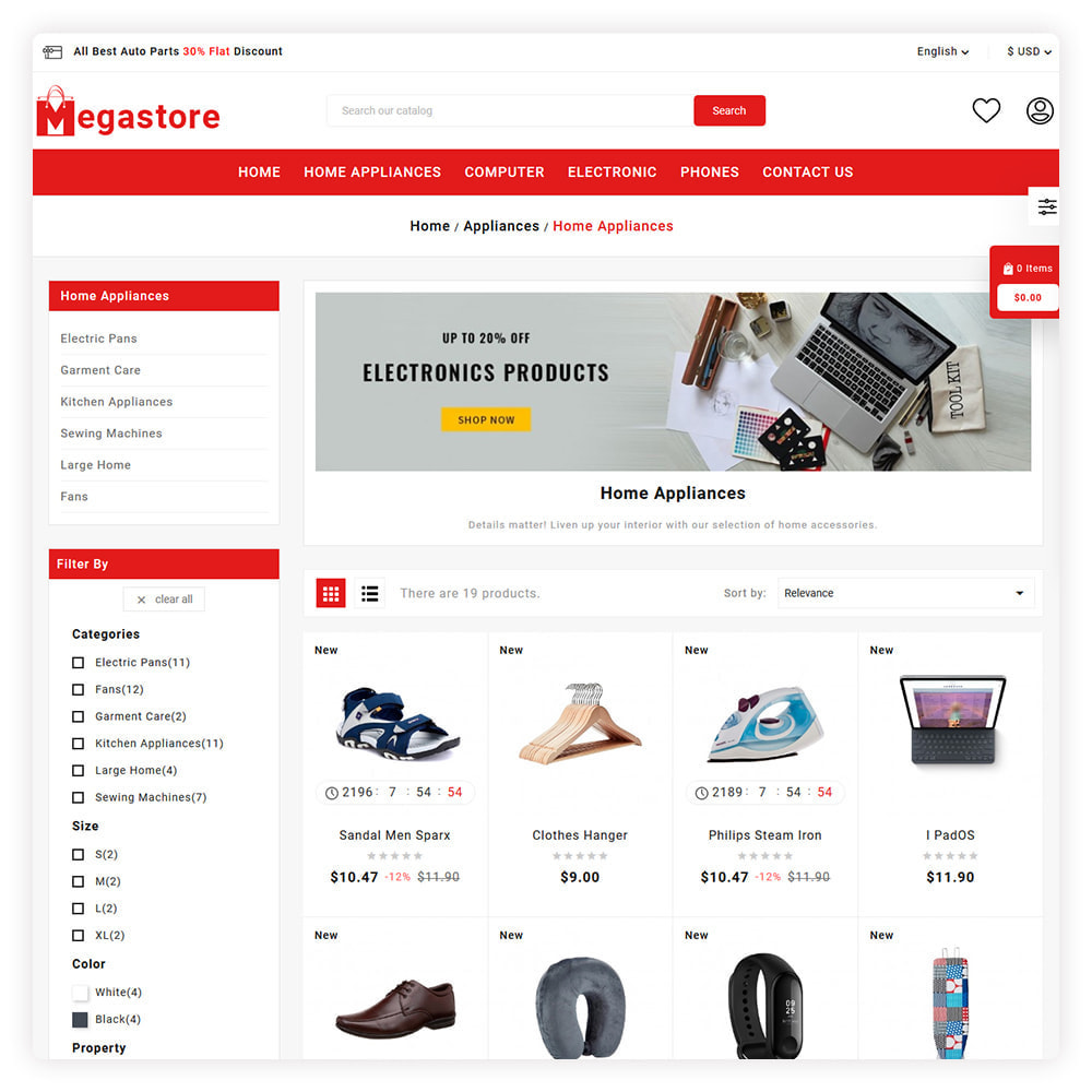 theme - Auto's & Motoren - Mega Store - 3