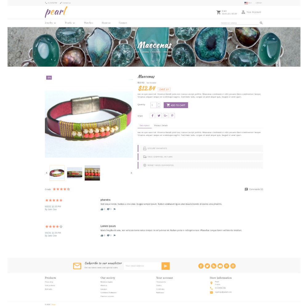 theme - Jewelry & Accessories - Pearl - 4