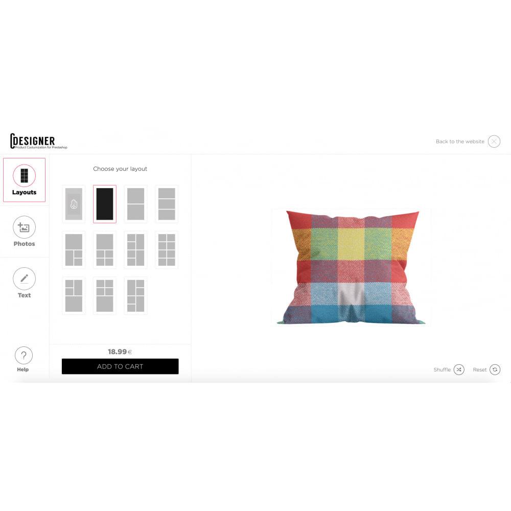 module - Combinaciones y Personalización de productos - Product Customization Designer - Custom Product Design - 5