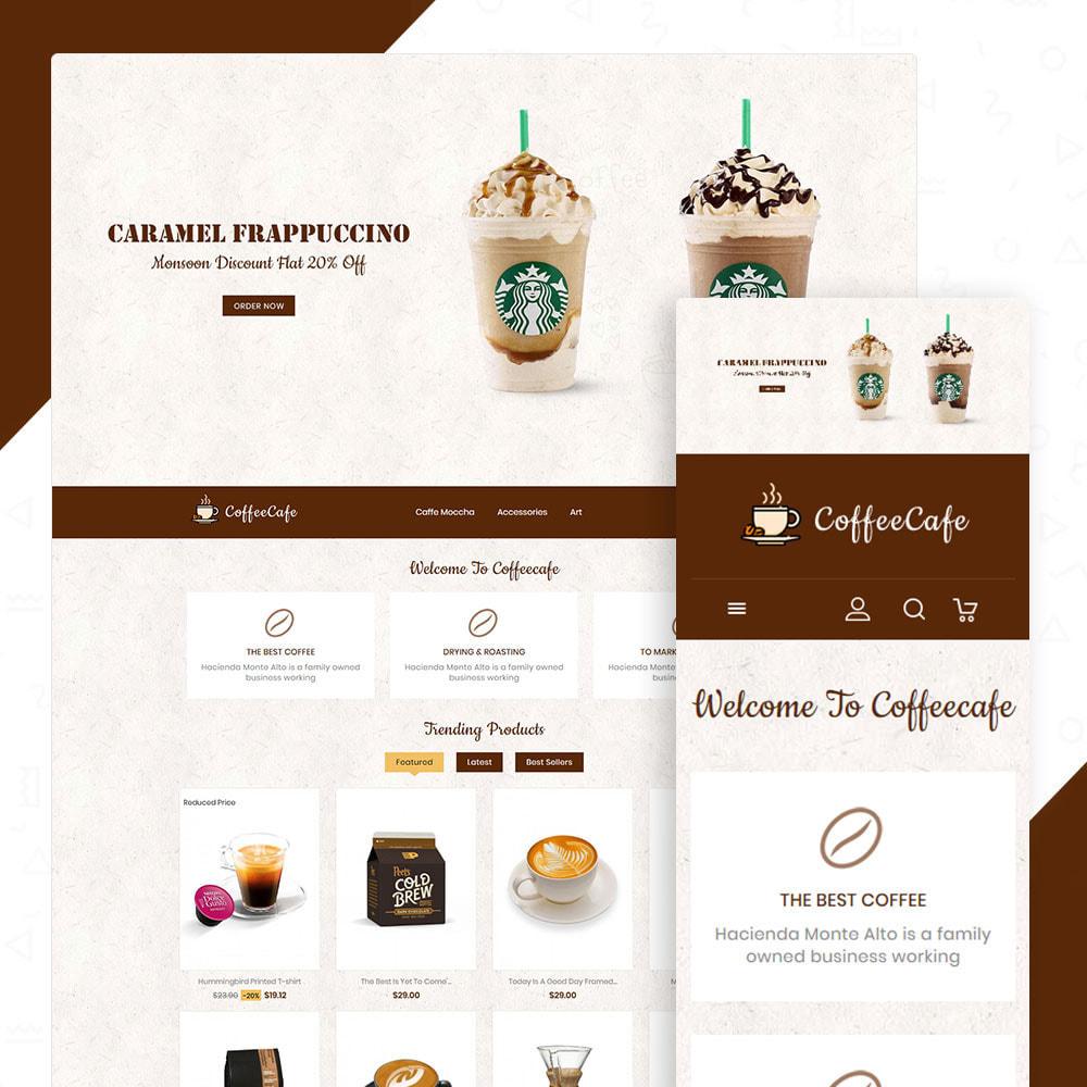 theme - Drink & Tobacco - CoffeeCafe Store - 1