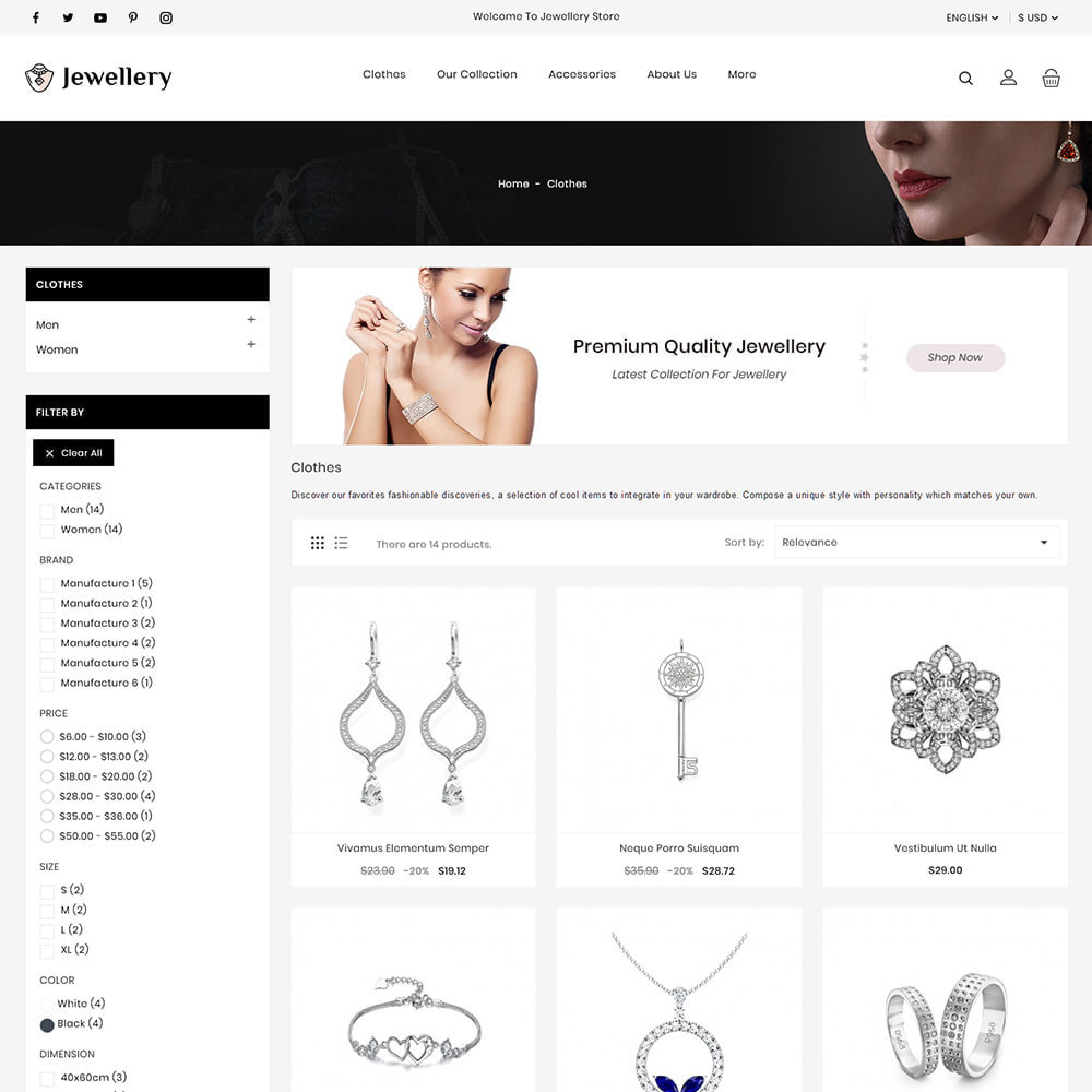 theme - Bijoux & Accessoires - Jewellery Stores - 3