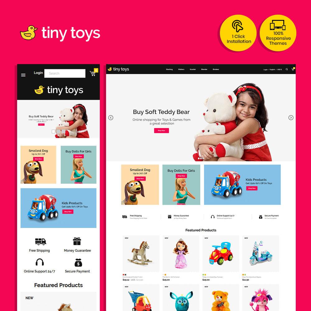 theme - Bambini & Giocattoli - Tuny Baby Kids - Negozio di giocattoli - 2
