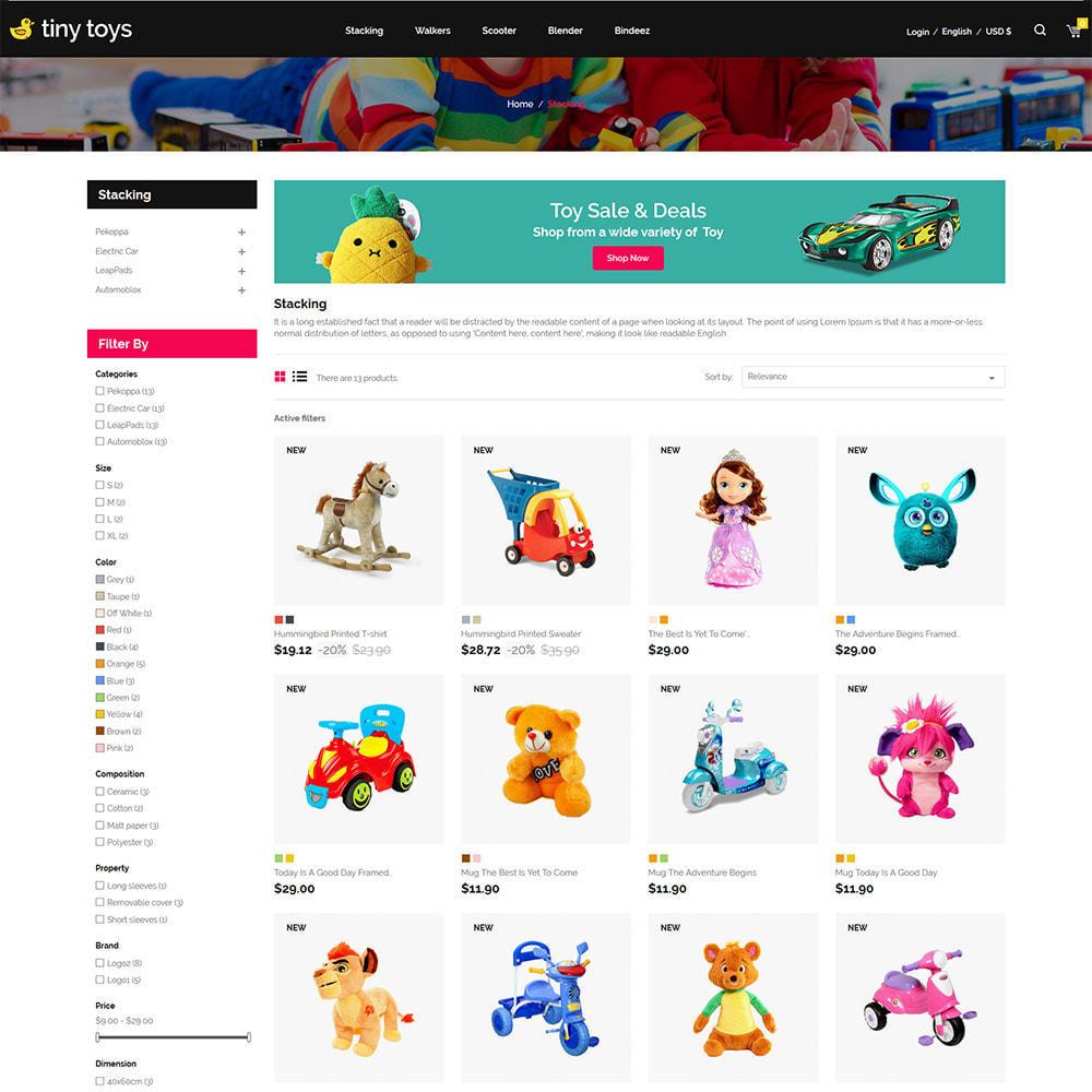 theme - Bambini & Giocattoli - Tuny Baby Kids - Negozio di giocattoli - 5