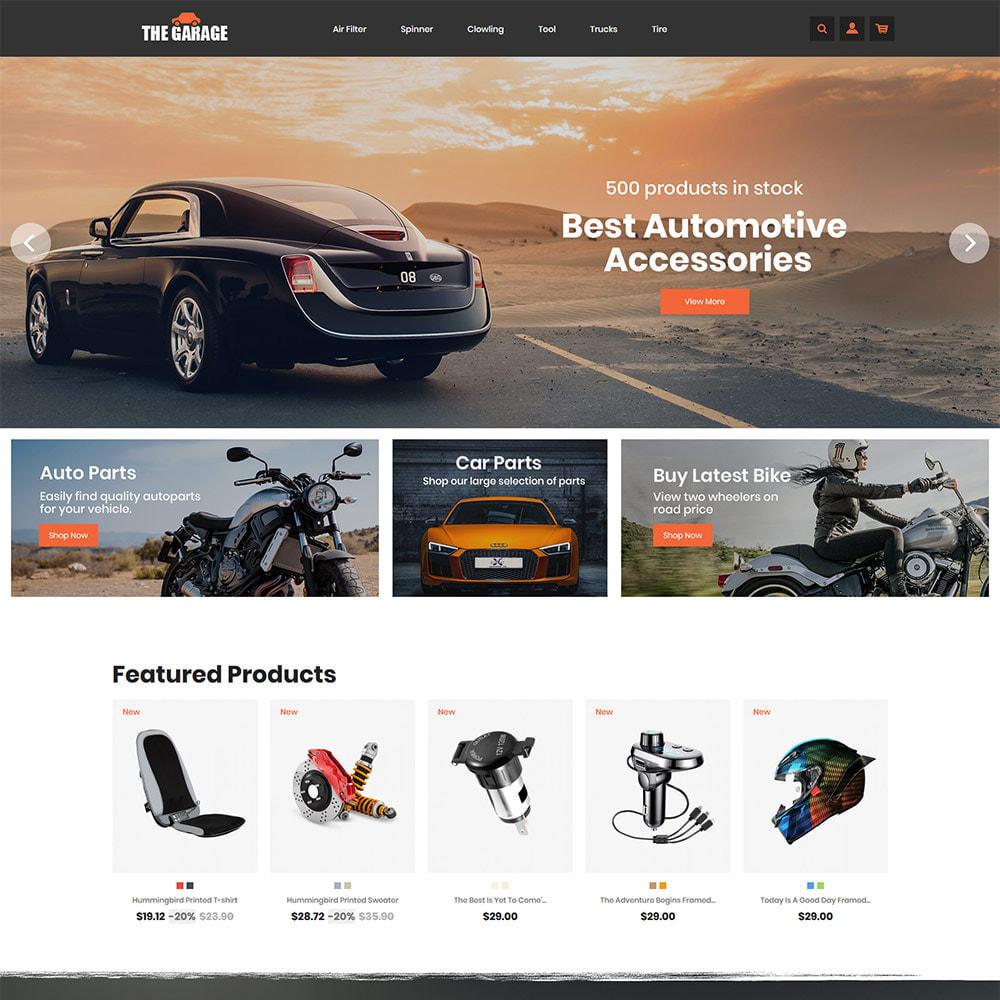 theme - Auto & Moto - The Garage Car - Auto Store - 3