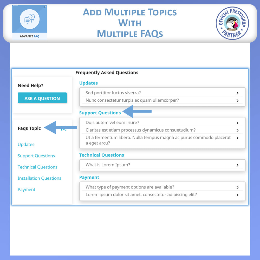 module - FAQ (Frequently Asked Questions) - Frequently Asked Questions - FAQ Advance - 4