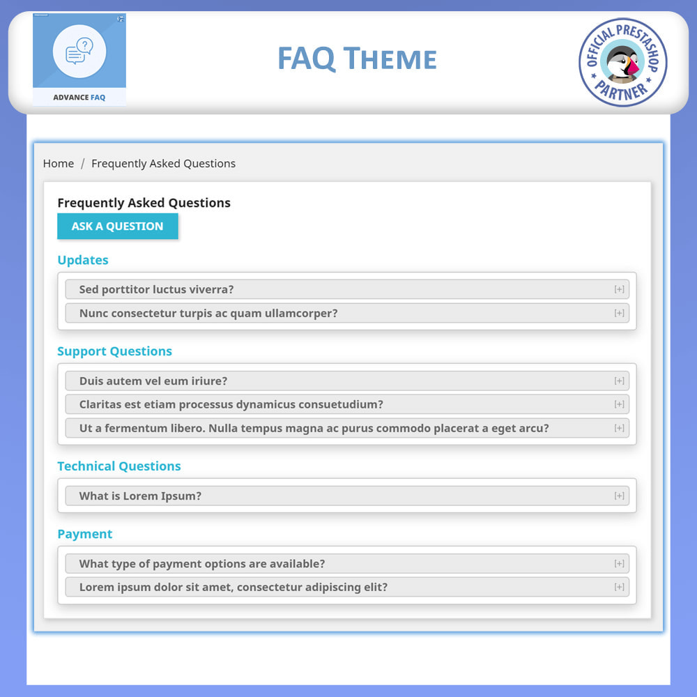 module - FAQ (Frequently Asked Questions) - Frequently Asked Questions - FAQ Advance - 5