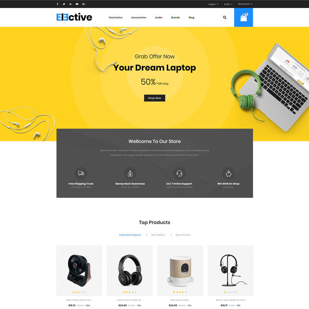theme - Elektronik & High Tech - The Elective - Electronic Store - 2