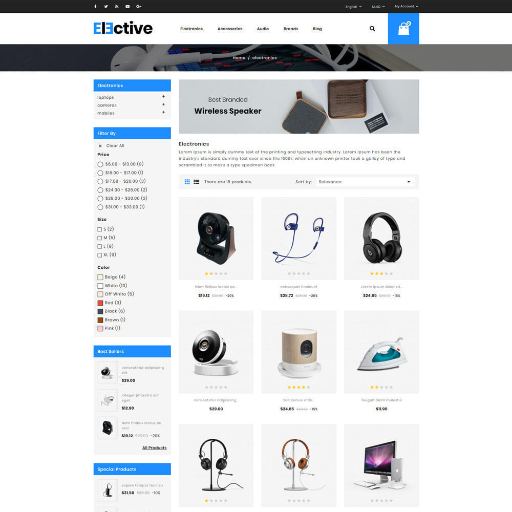 theme - Elektronik & High Tech - The Elective - Electronic Store - 3
