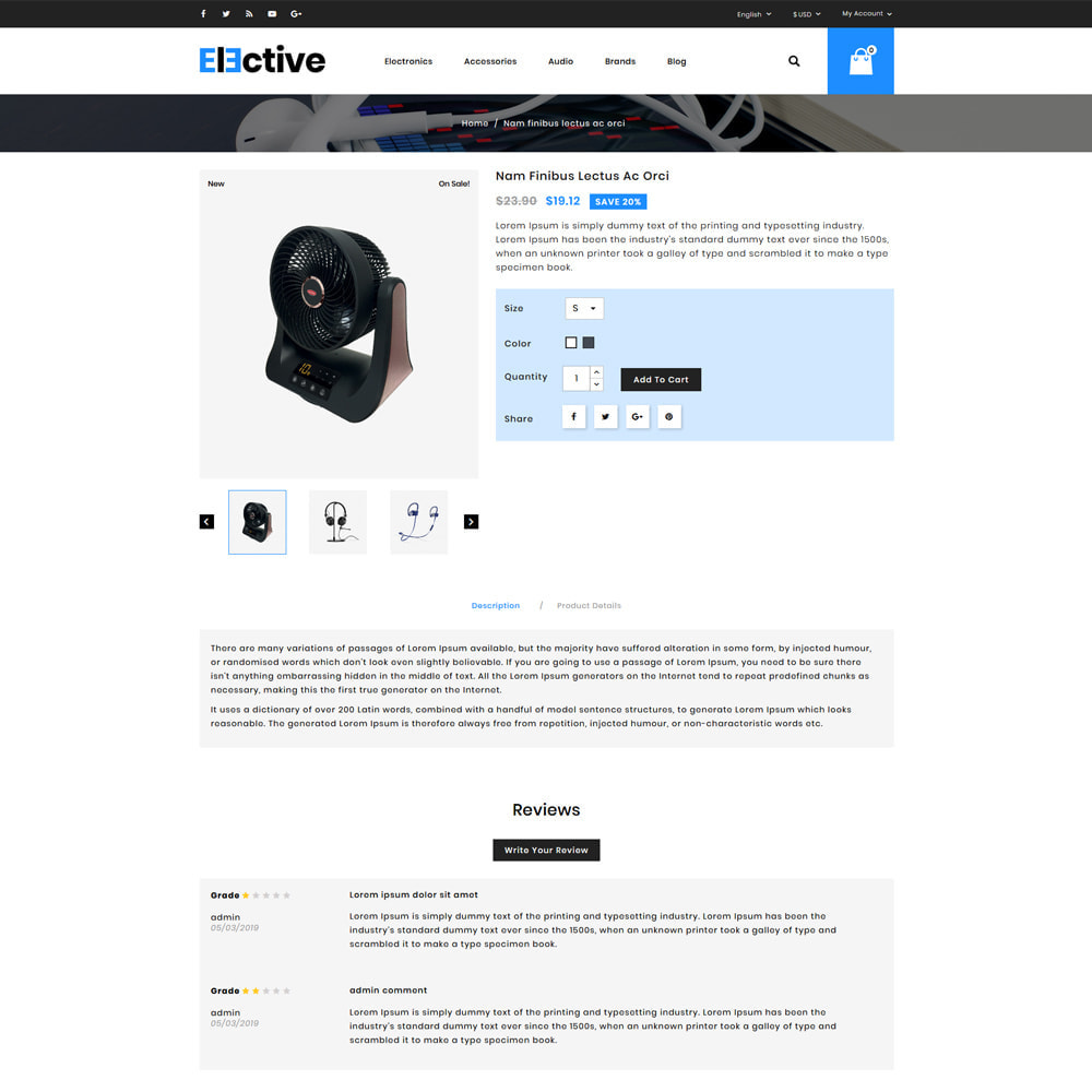 theme - Elektronik & High Tech - The Elective - Electronic Store - 4