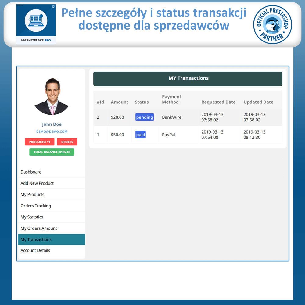 module - Stworzenia platformy handlowej - Multi Vendor Marketplace  - Marketplace Pro - 19
