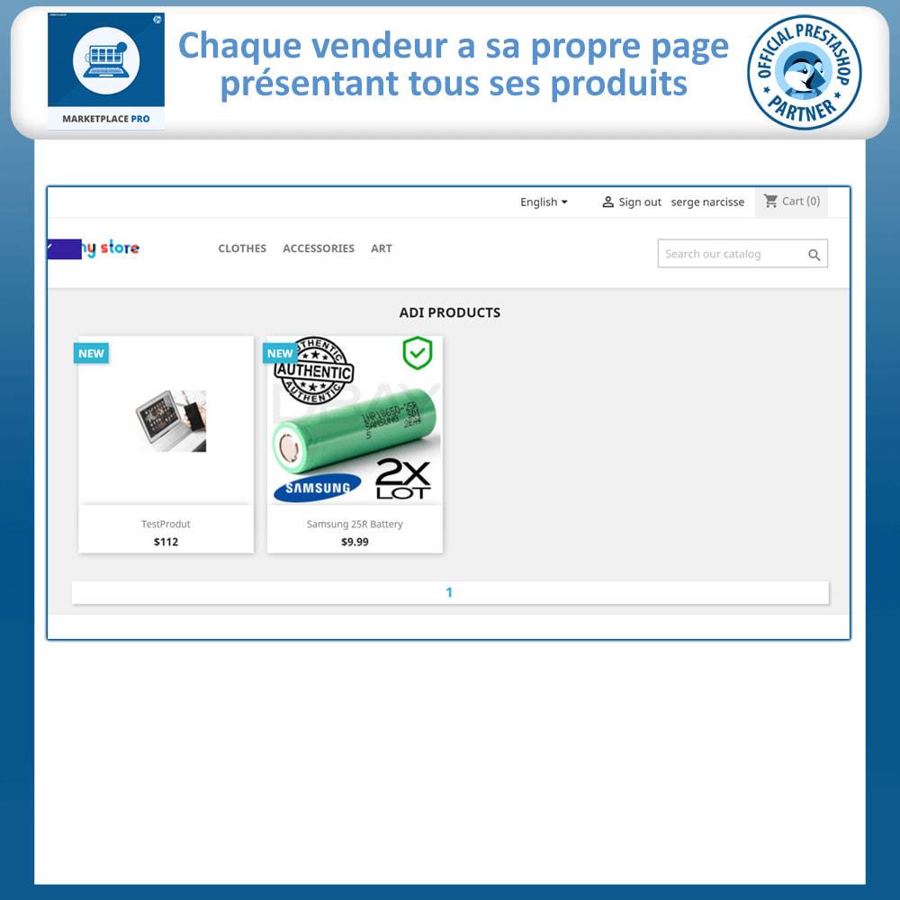 module - Création de Marketplace - Multi Vendor Marketplace  - Marketplace Pro - 4