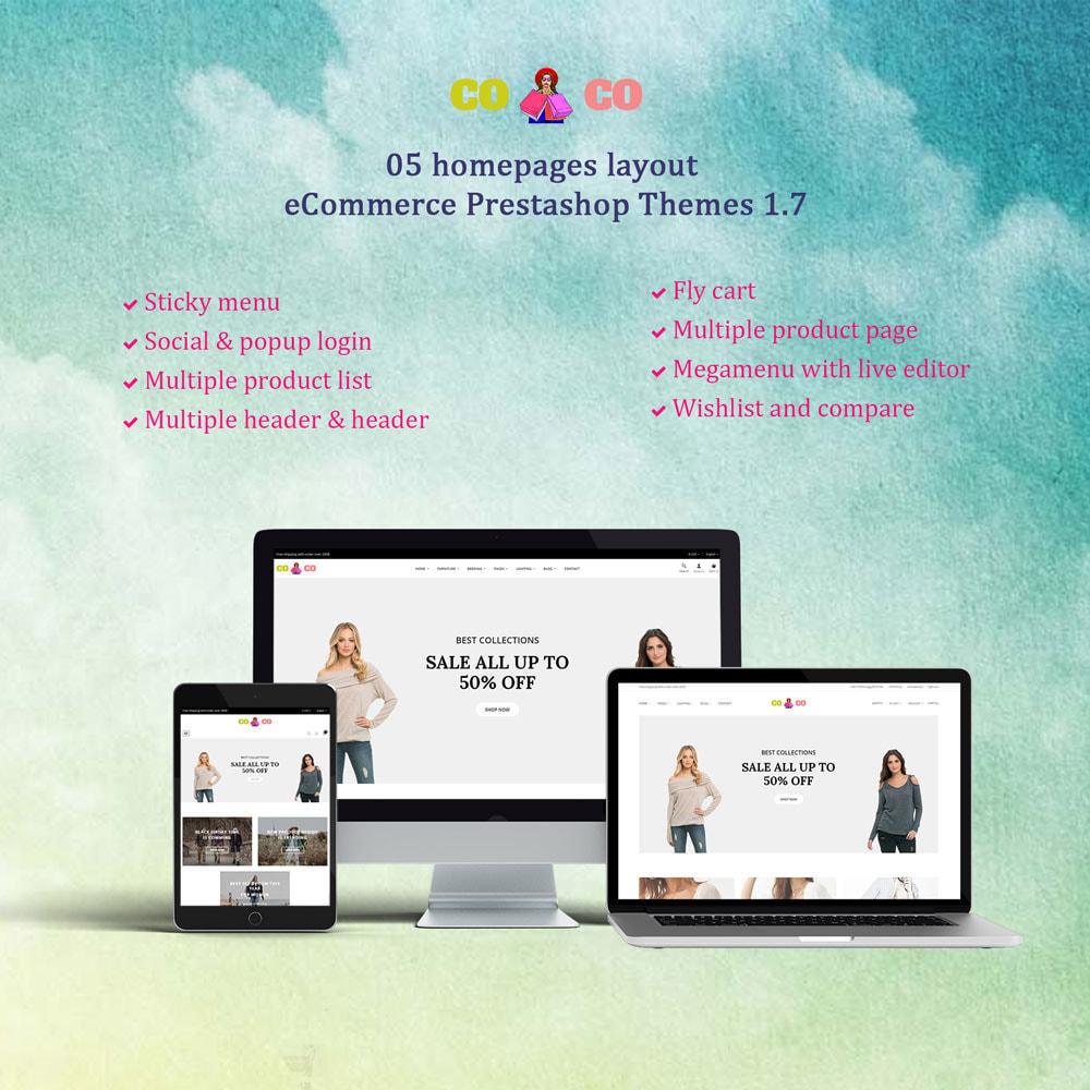 theme - Moda & Calzature - Coco - Fashion and Shose online store. - 1