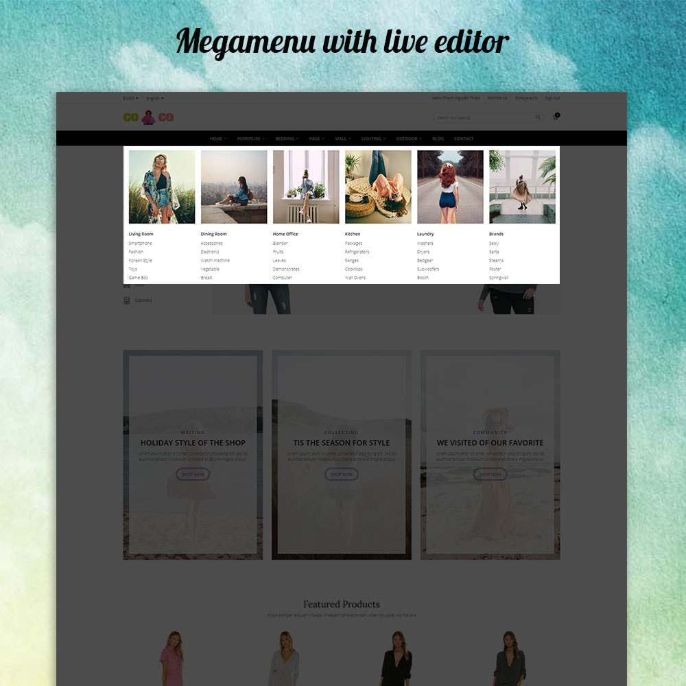 theme - Moda & Calzature - Coco - Fashion and Shose online store. - 2