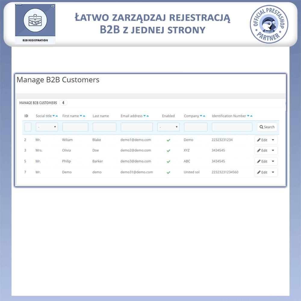 module - Procedury składania zamówień - Rejestracja B2B - 5