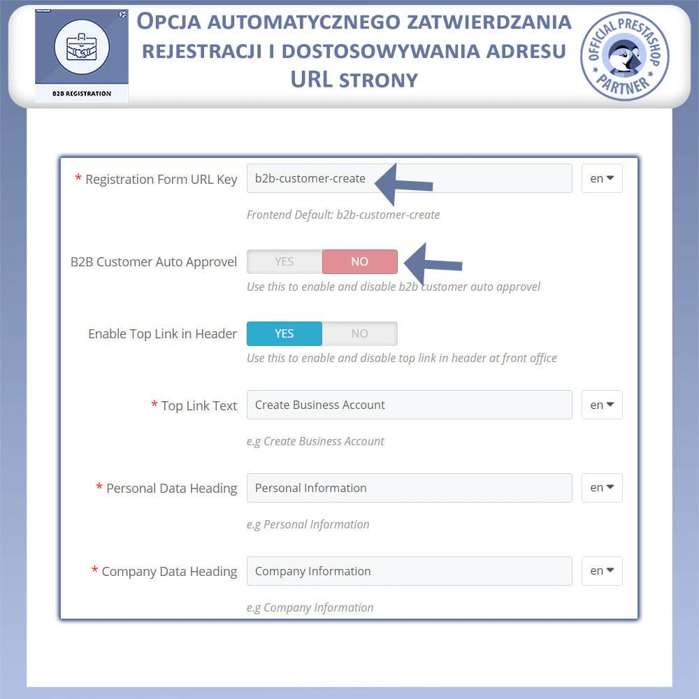 module - Procedury składania zamówień - Rejestracja B2B - 6