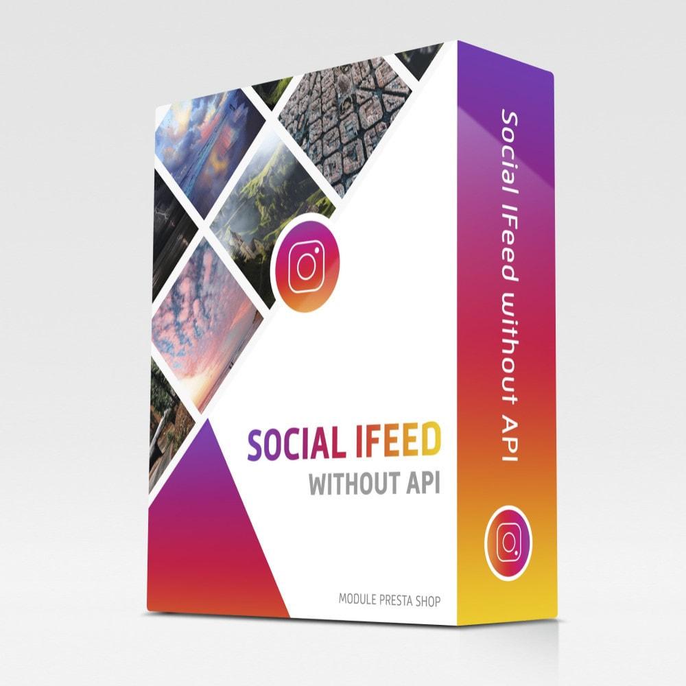 module - Виджеты для социальных сетей - Лента Instagram без API - 1