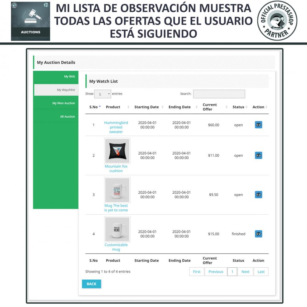 module - Web de Subastas - Subasta Pro - Subastas en línea y oferta - 16