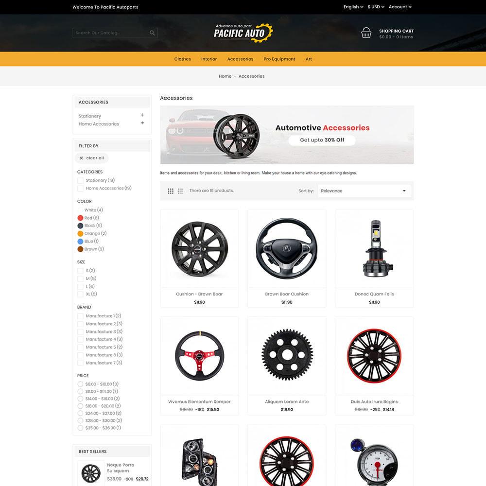theme - Coches y Motos - Pacific Auto Store - 3