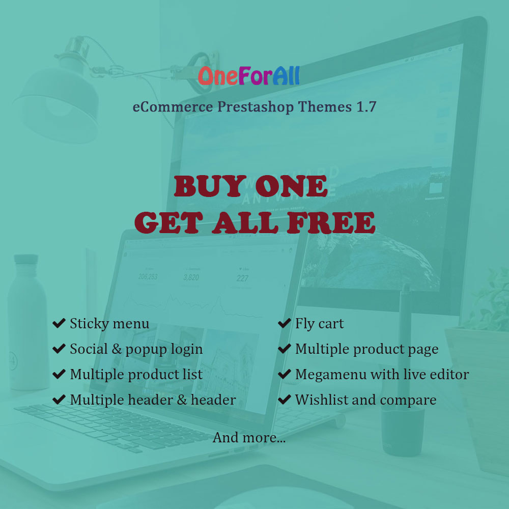 theme - Heim & Garten - One for all - Buy one get all template - 1