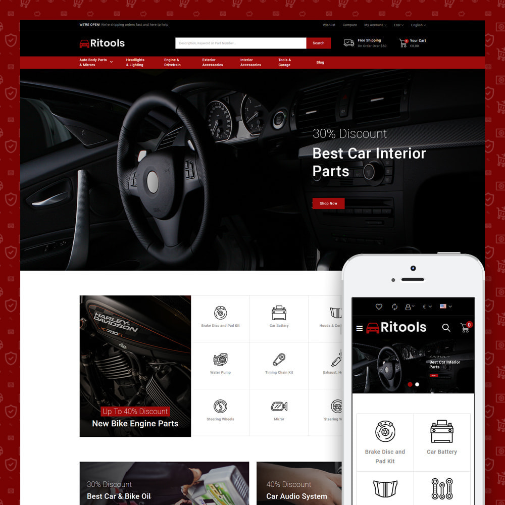 theme - Coches y Motos - Tools - Online Store - 3
