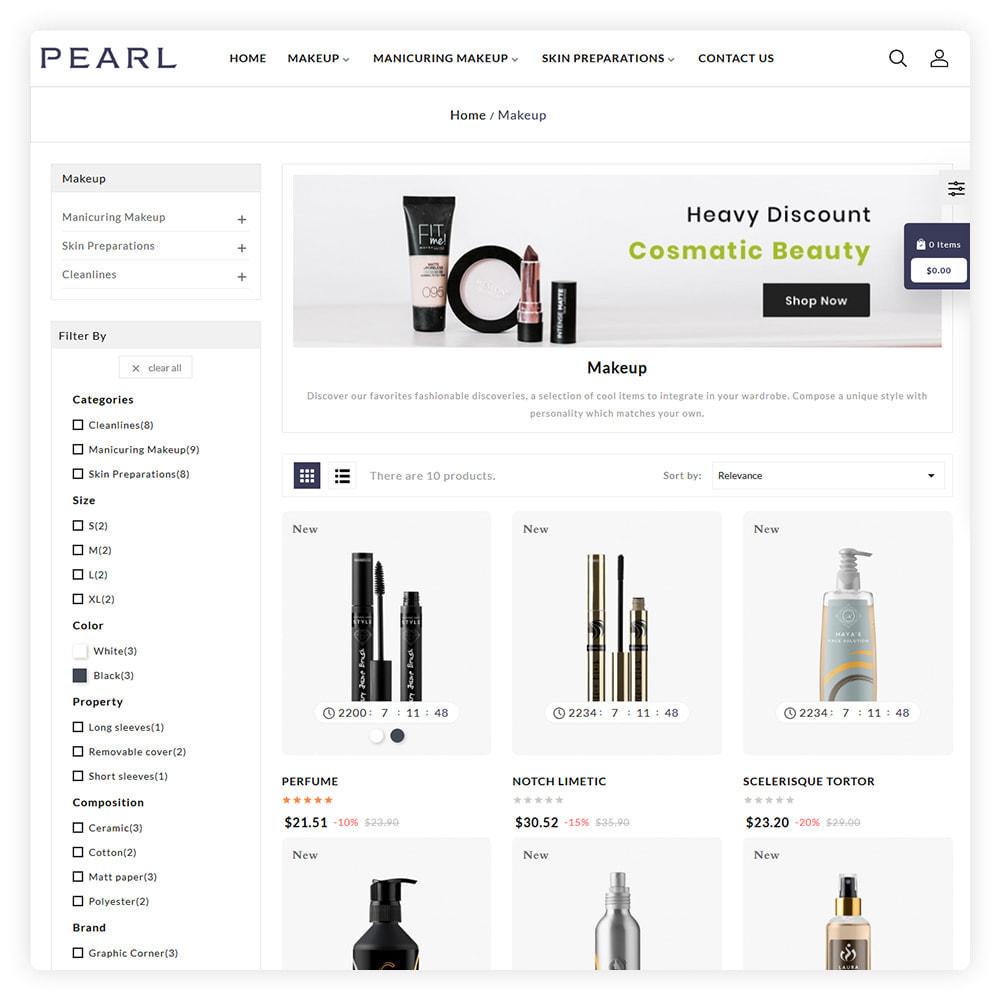theme - Gezondheid & Schoonheid - Peral Cosmetic Store - 3