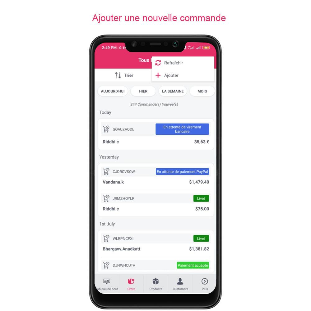 module - Mobile - FE Presta Admin App - admin de magasin facile à gérer - 21