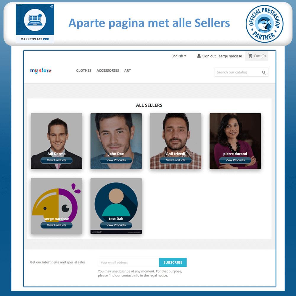 module - Marktplaats opzetten - Multi Vendor Marketplace  - Marketplace Pro - 3