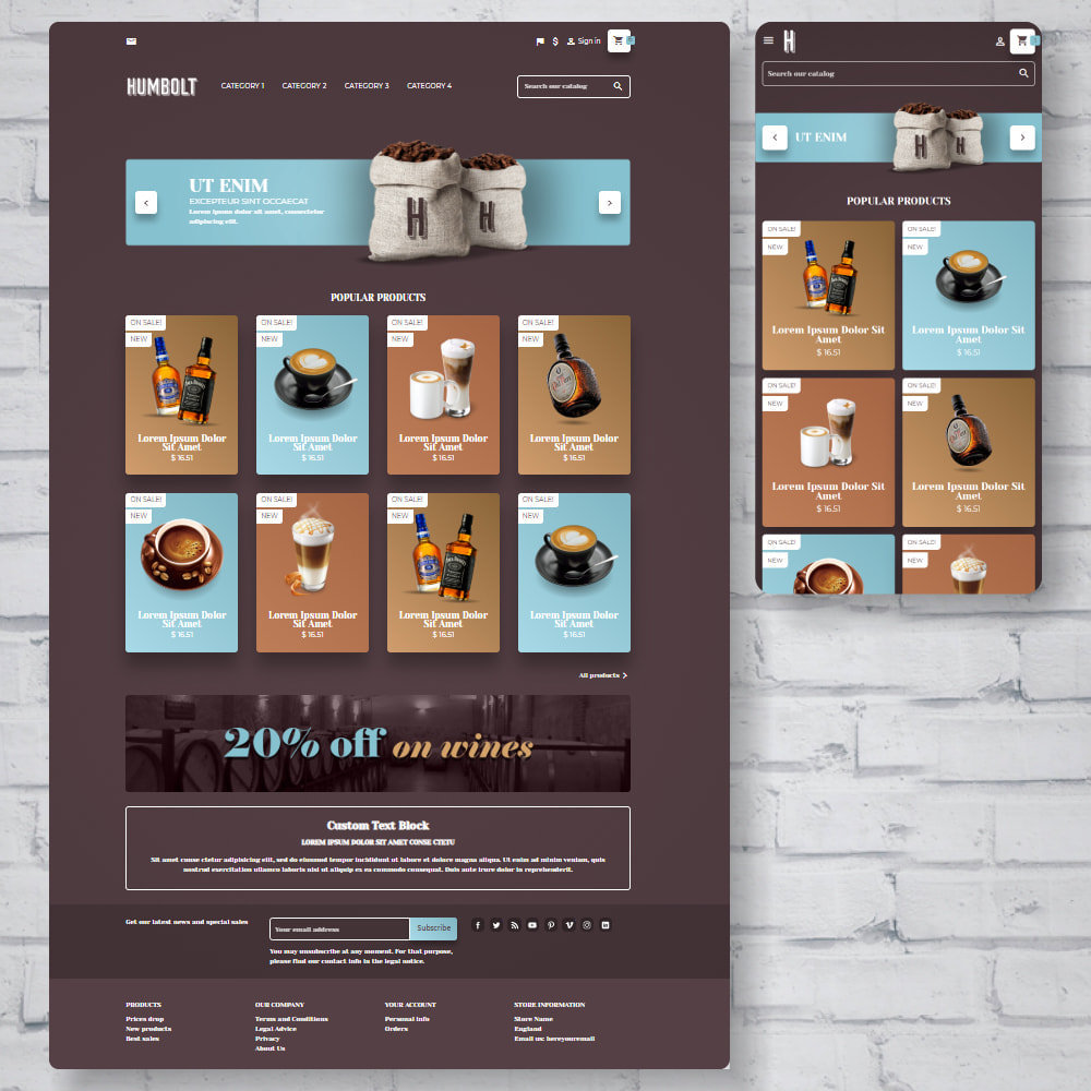theme - Food & Restaurant - Cafetime Food Store - 1
