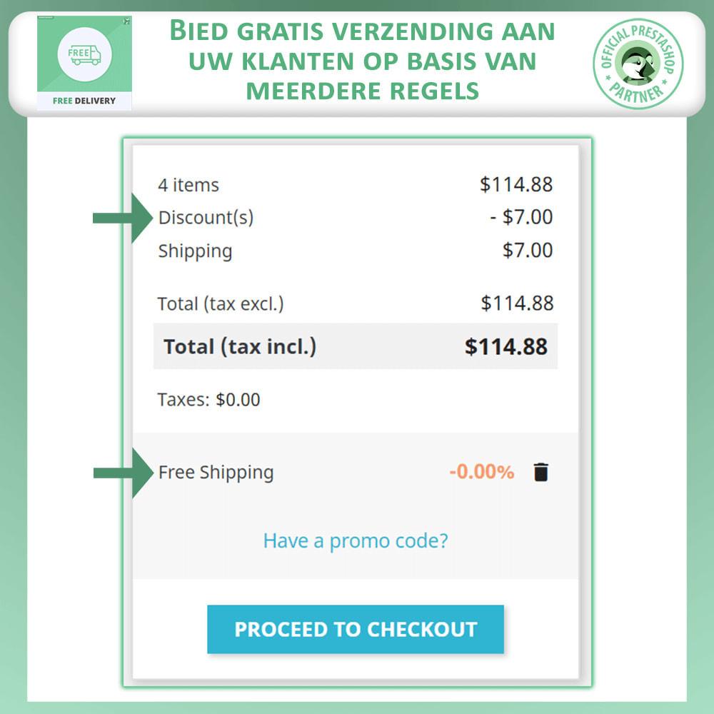 module - Verzendkosten - Geavanceerde Gratis Verzending - 2