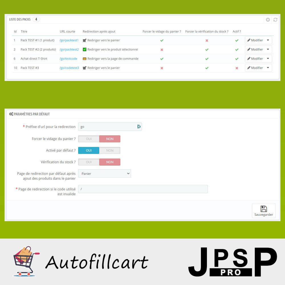 module - Anmeldung und Bestellvorgang - Fill cart automatically - 2