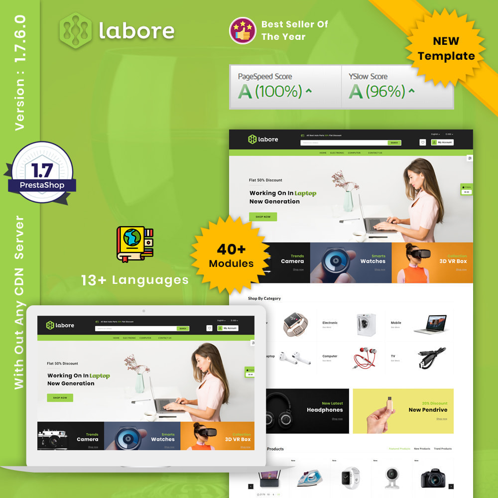theme - Elektronica & High Tech - Labore Electronics Store - 1