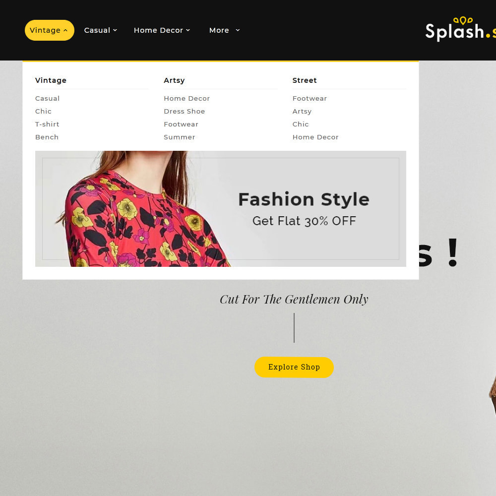 theme - Fashion & Shoes - Splash Style Fashion Store - 9