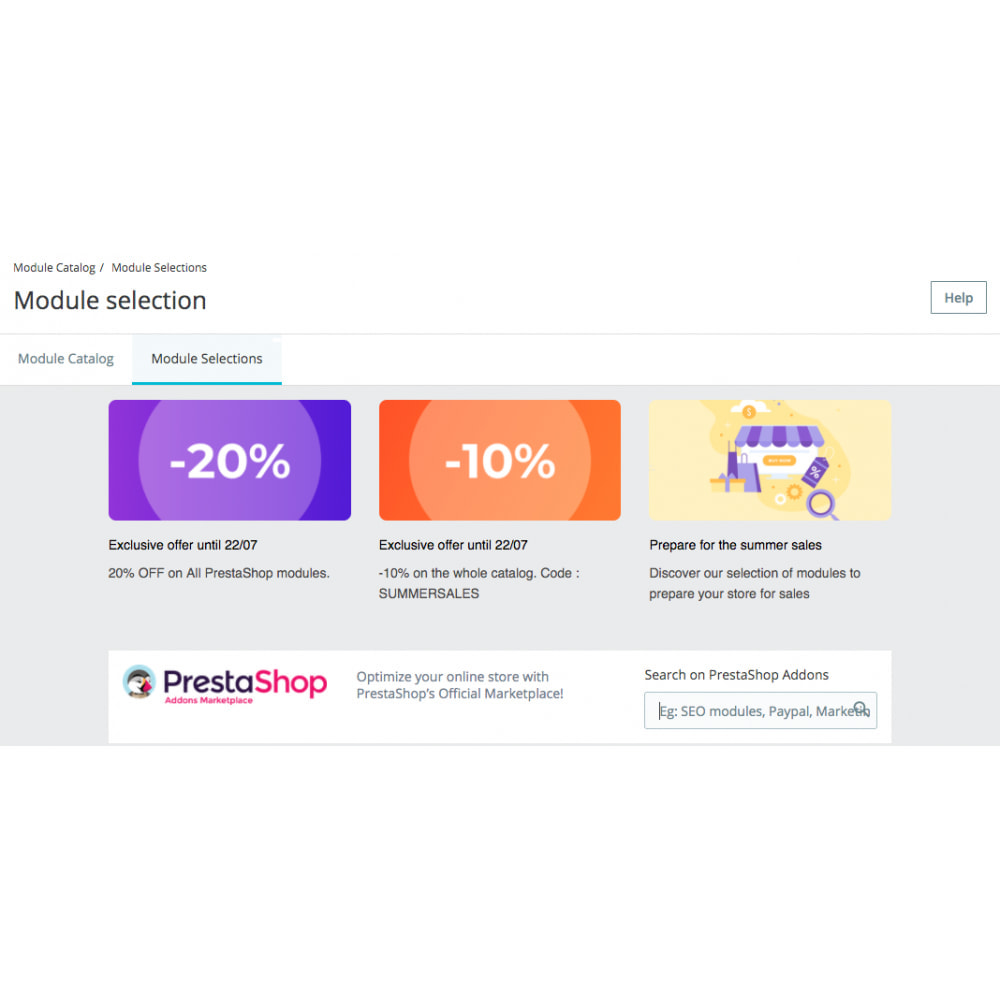 module - Herramientas Administrativas - PrestaShop Marketplace in your Back Office - 3
