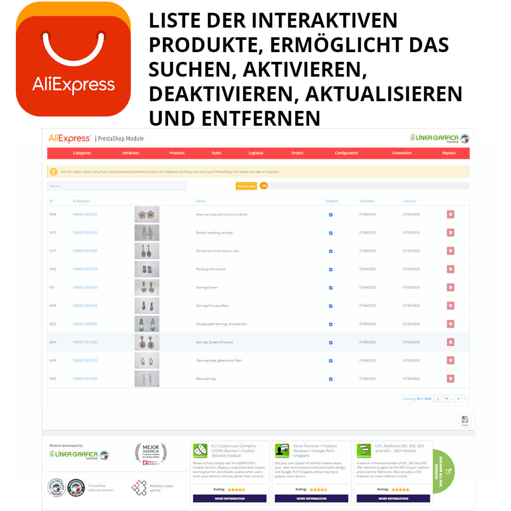 module - Marktplätze - AliExpress Official - 1