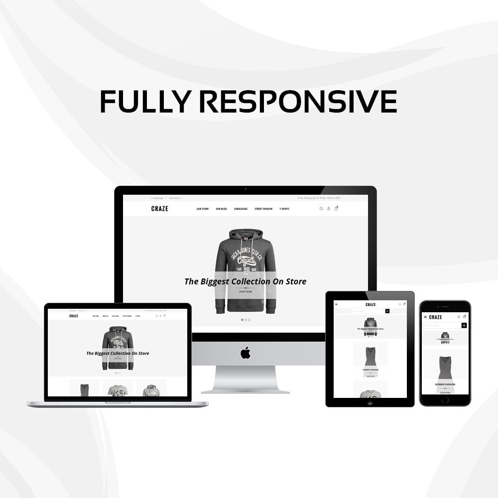 theme - Moda y Calzado - Craze - La tienda en línea multipropósito - 2