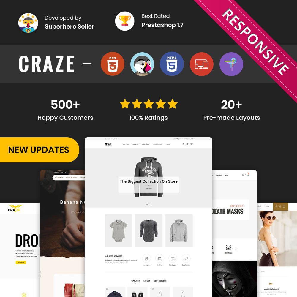theme - Moda & Calzature - Craze - Il negozio online multiuso - 2