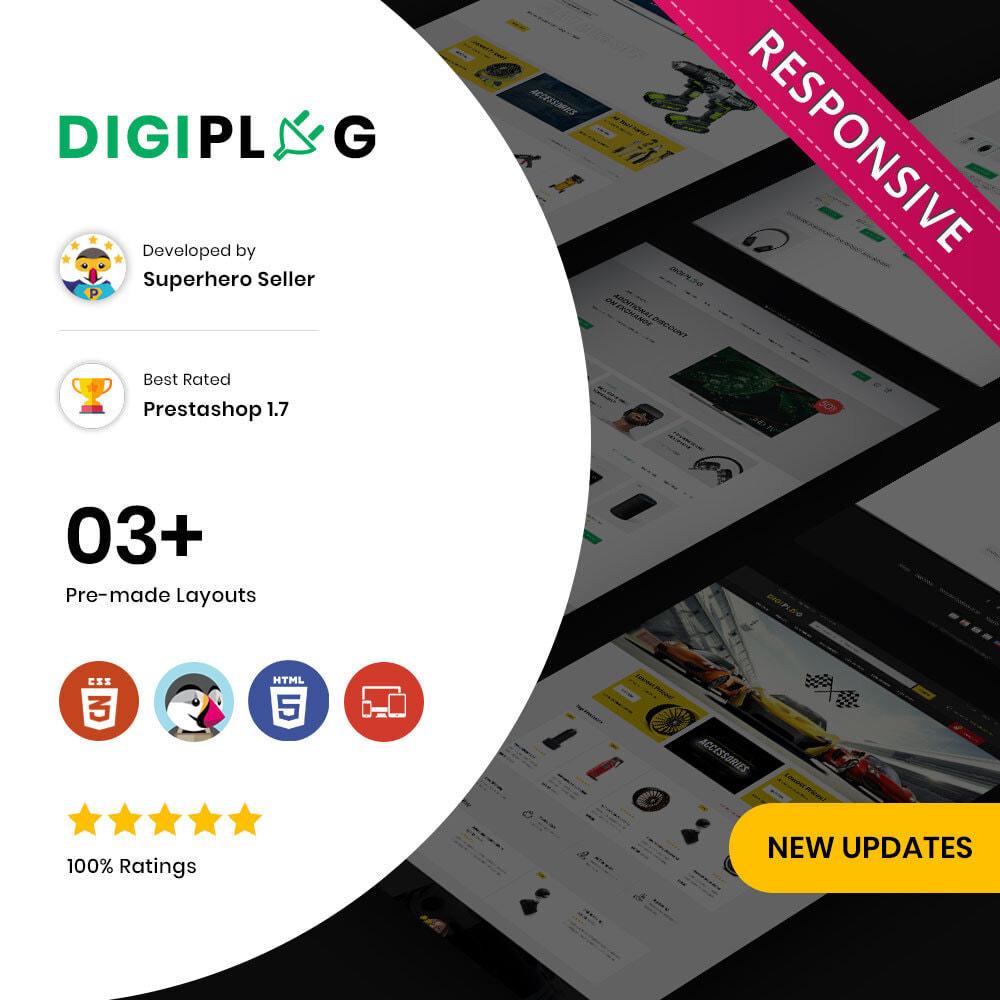 theme - Electrónica e High Tech - Digiplug - La mega tienda electrónica - 1