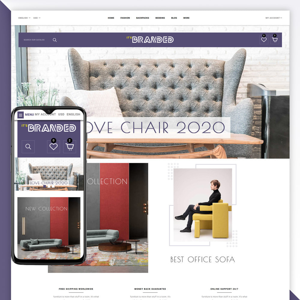 theme - Casa & Jardins - Branded - Furniture Store - 1