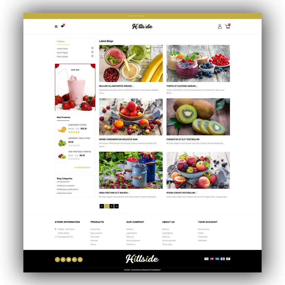 theme - Food & Restaurant - Hillside - Food Store - 7