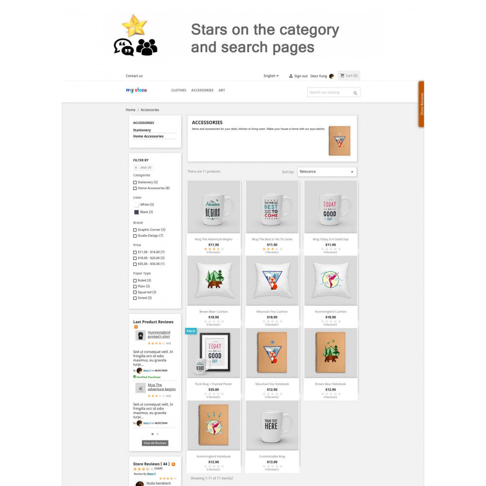 module - Recensioni clienti - Product Reviews+Shop Reviews, Loyalty Program, Reminder - 9