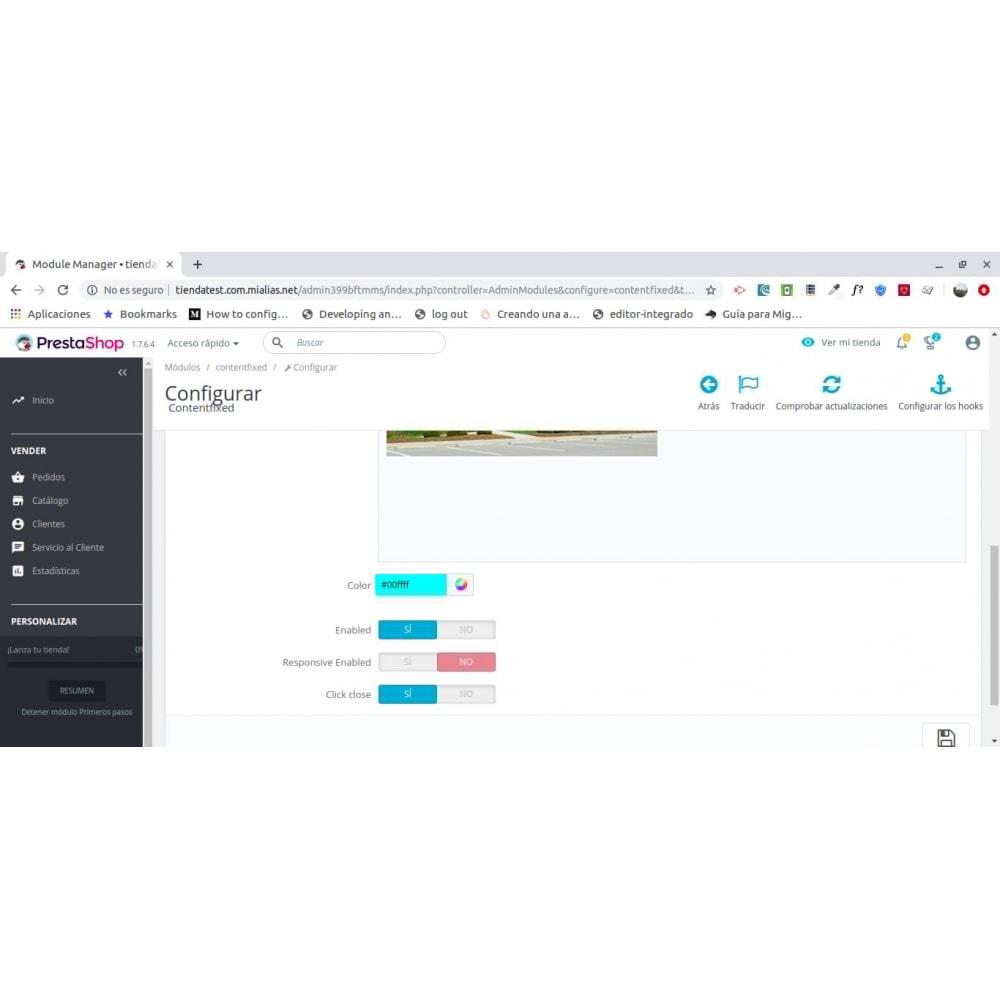 module - Blocks, Reiter & Banner - Content Fixed - 1