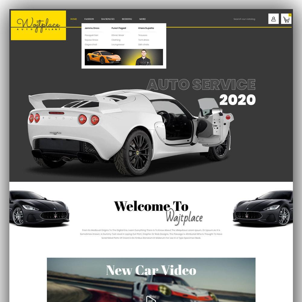 theme - Auto & Moto - Wojtplace - Autoparts Store - 2