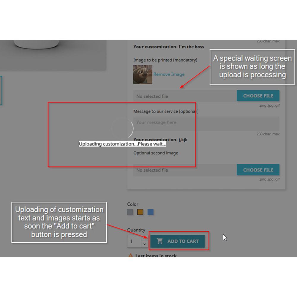 module - Вариаций и персонализации товаров - Customization directly into cart - 2