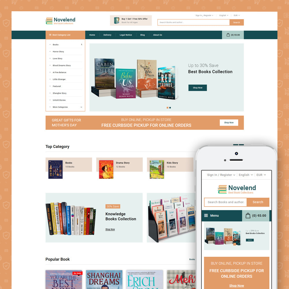 theme - Art & Culture - Online Book Store - 2