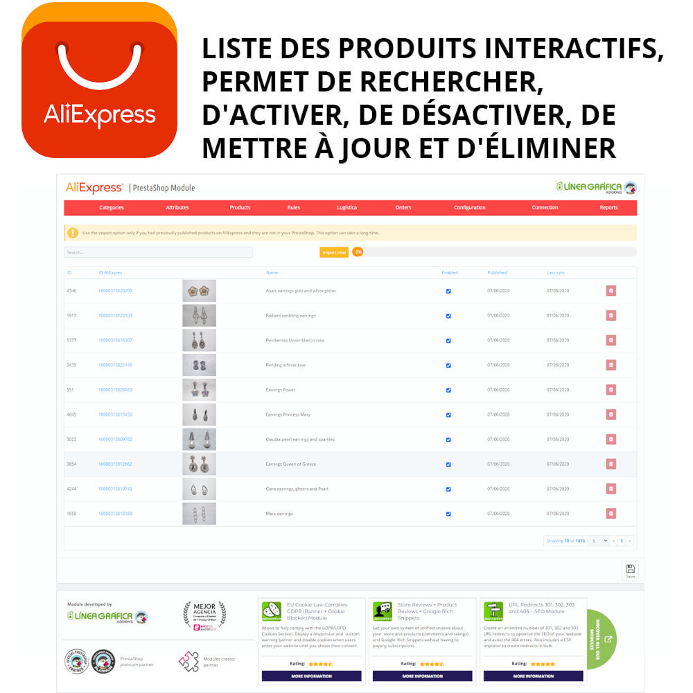 module - Marketplaces - Oficial AliExpress - 2