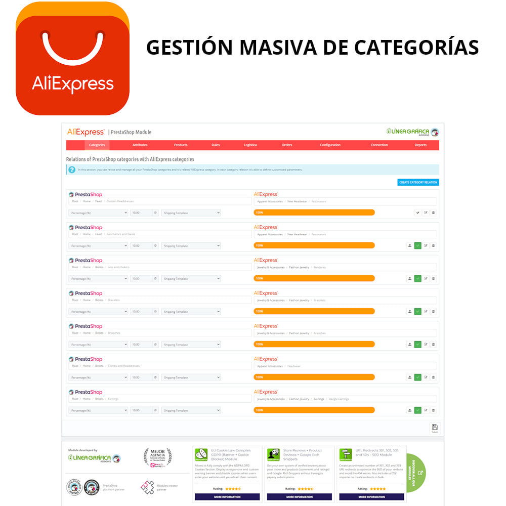 module - Marketplaces - Oficial AliExpress - 3